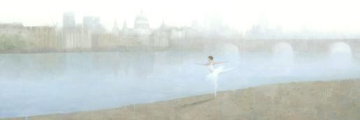 Ballerina on the Thames