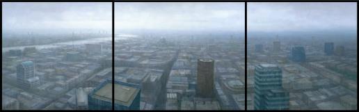 London Cityscape Triptych